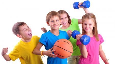 Ilustrasi anak-anak berolahraga. - INDOSPORT