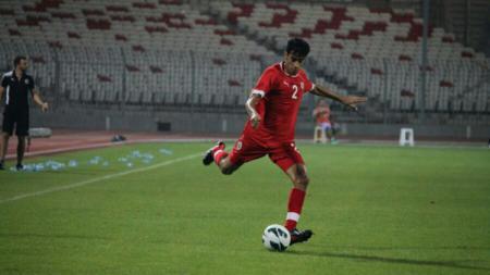 Pesepak bola asal Bahrain, Hakeem Alaraibi. - INDOSPORT
