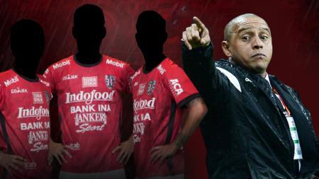 Tiga bintang asing yang bisa merapat ke Bali United bila ditukangi Roberto Carlos - INDOSPORT