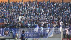 Indosport - Panser Biru, pendukung PSIS Semarang.