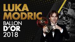 Indosport - Luka Modric pemenang Ballon D'or 2018