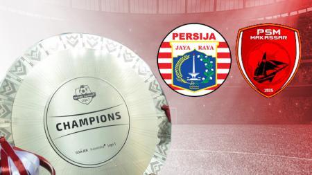 Persija Jakarta vs PSM Makassar - INDOSPORT
