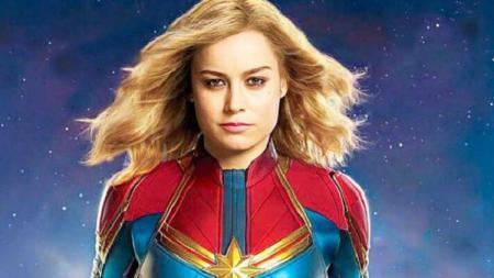 Brie Larson, aktris yang akan memerankan Captain Marvel - INDOSPORT