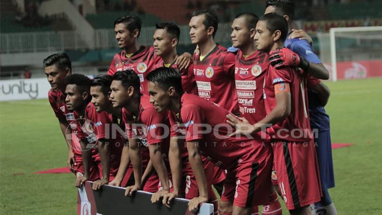 Semen Padang vs PSS Sleman Copyright: Abdul Aziz/INDOSPORT