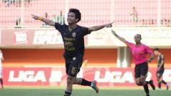Indosport - Rangga Muslim, pemain PSS Sleman.