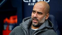 Indosport - Pep Guardiola, pelatih Manchester City.