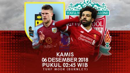 Prediksi Pertandingan Liga Primer Inggris 2018 Burnley vs Liverpool. - INDOSPORT