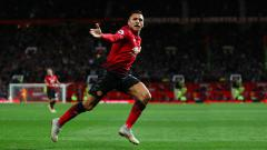 Indosport - Alexis Sanchez, gelandang serang Manchester United.