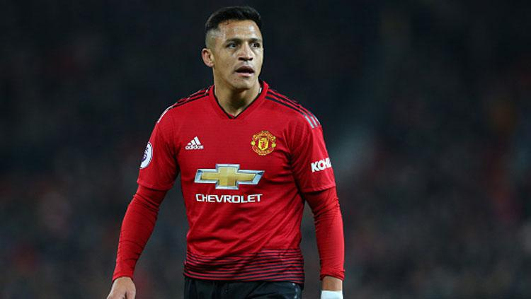 Alexis Sanchez, gelandang serang Manchester United. Copyright: Getty Images