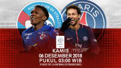 Indosport - prediksi RC Strasbourg Vs PSG
