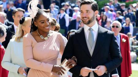 Serena Williams mengaku bahagia menjadi istri Alexis Ohanian . - INDOSPORT