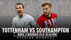 Indosport - Prediksi pertandingan Tottenham Hotspur VS Southampton.