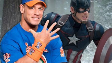 John Cena dikabarkan akan menggantikan Chris Evans sebagai Captain America. - INDOSPORT
