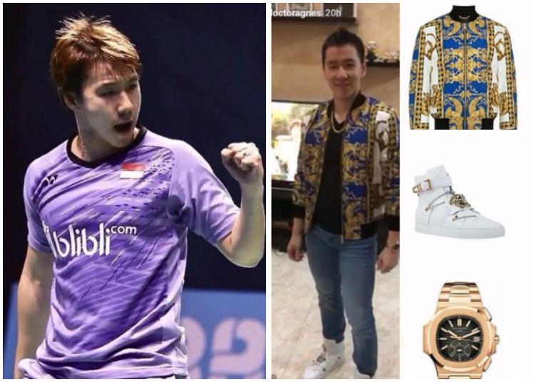 Marcus Gideon dan Outfit Mahalnya Copyright: Kolase Indosport&Instagram