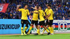 Indosport - Skuat Timnas Malaysia di Piala AFF 2018.