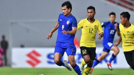 Thailand vs Malaysia. - INDOSPORT