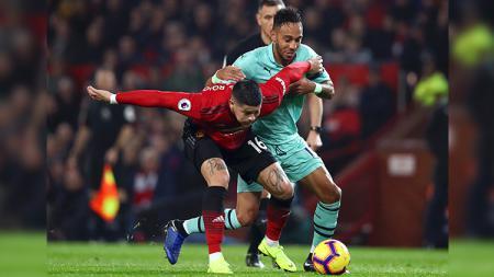 Marcos Rojo kemungkinan akan dilepas Manchester United ke klub sepak bola Turki, Fenerbahce. - INDOSPORT