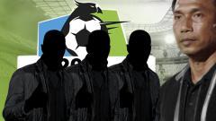Indosport - 4 pelatih kawakan Liga 1 yang kemungkinan hengkang dari klubnya di akhir musim, diantaranya, Widodo Cahyono Putro