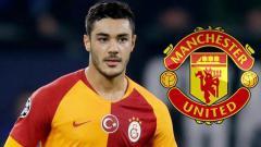 Indosport - Bek Muda Galatasaray incaran Man United, Ozan Muhammed Kabak.