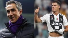 Indosport - Paulo Sousa dan Cristiano Ronaldo.