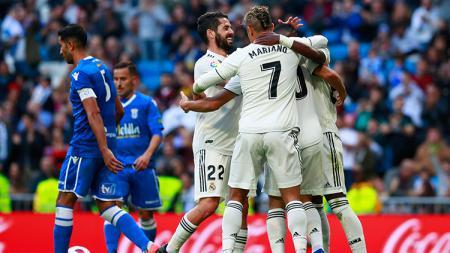 Real Madrid vs Melilla. - INDOSPORT