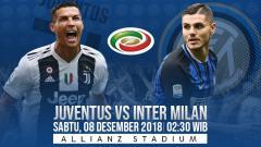 Indosport - Prediksi pertandingan Juventus vs Inter Milan