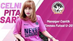 Indosport - Celni Pita Sari manager Timnas Futsal Indonesia