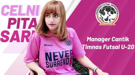 Celni Pita Sari manager Timnas futsal Indonesia. - INDOSPORT