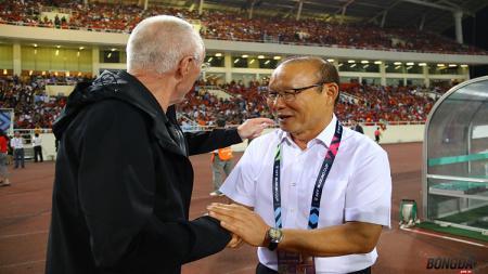 Pelatih Timnas Vietnam, Park Hang-seo. - INDOSPORT