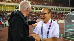 Indosport - Pelatih Timnas Vietnam, Park Hang-seo dan Sven Goran-Eriksson.