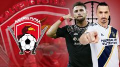 Indosport - Kalteng Putra, Marko Simic, dan Zlatan Ibrahimovic
