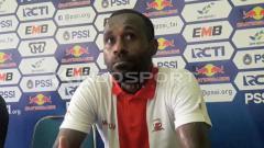 Indosport - Engelberd Sani, mantan penggawa Madura United.