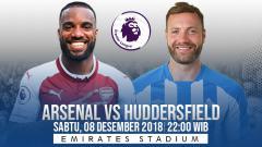 Indosport - Prediksi pertandingan Arsenal vs Huddersfield Town