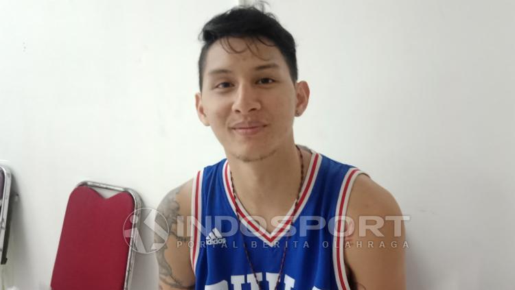 Pemain Bogor Siliwangi, Daniel Wenas. Copyright: Shintya Maharani/INDOSPORT