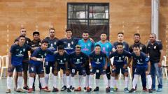 Indosport - Skuat Tim Futsal Bifor Papua FC.