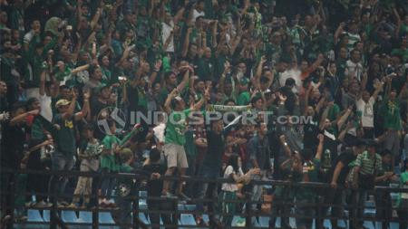 Suporter Persebaya (BONEK). - INDOSPORT
