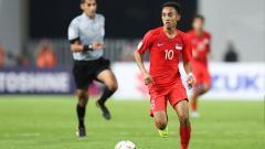 Indosport - Faris Ramli diharapkan dapat memimpin Tim Nasional Singapura U-22 untuk meraih emas di SEA Games 2019 mendatang.