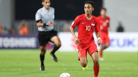Faris Ramli diharapkan dapat memimpin Tim Nasional Singapura U-22 untuk meraih emas di SEA Games 2019 mendatang. - INDOSPORT