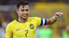 Indosport - Aidil Zafuan, pemain sepak bola Malaysia.
