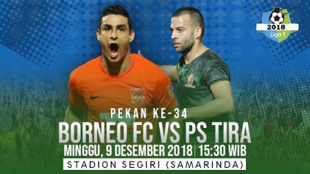 Prediksi pertandignan Liga 1 2018: Borneo FC vs PS TIRA. - INDOSPORT