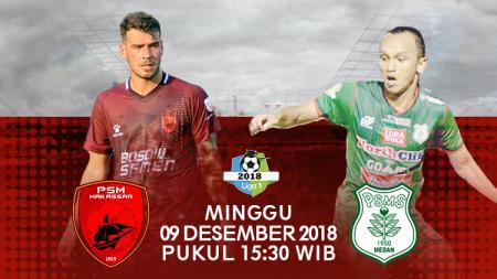 Prediksi pertandingan PSM Makasar VS PSMS Medan - INDOSPORT