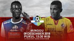 Indosport - Jadwal Arema FC vs Sriwijaya FC di pekan ke-34.