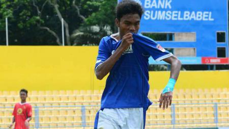 Pemain Persib U-16 Merayakan golnya - INDOSPORT