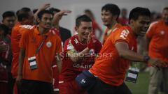 Indosport - Pemain Persija Jakarta, Ismed Sofyan.
