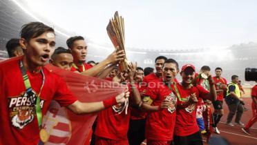 (GALERI FOTO) Persija Jakarta Juara Liga 1 2018