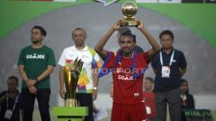Indosport - Rohit Chand pemain terbaik Liga 1 Indonesia.