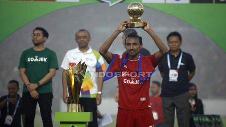 Rohit Chand pemain terbaik Liga 1 Indonesia. - INDOSPORT