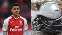 Indosport - Wonderkid Arsenal, Dominic Thompson, terlibat dalam kecelakaan maut