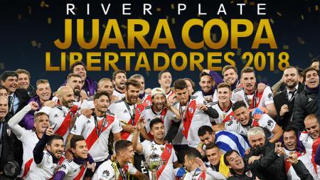 River Plate juara Piala Libertadores usai taklukan Boca Juniors - INDOSPORT