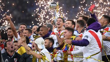 (GALERI FOTO) River Plate Juara Copa Libertadores di Kandang Madrid